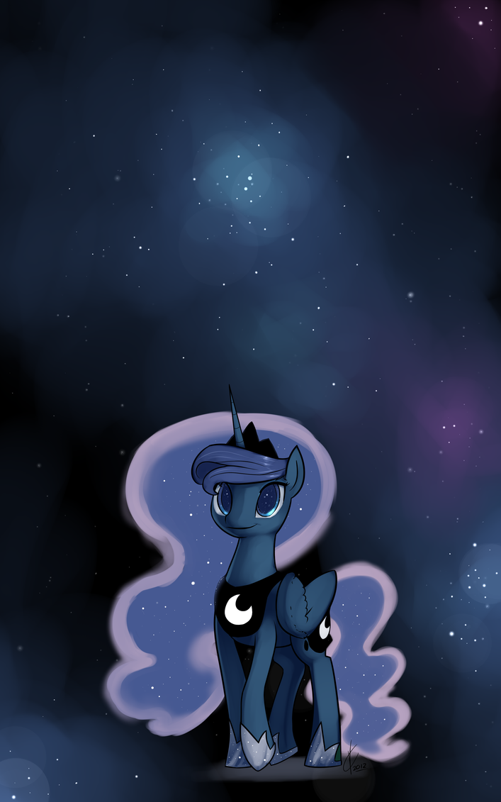 Luna and the basic black. by Dreatos