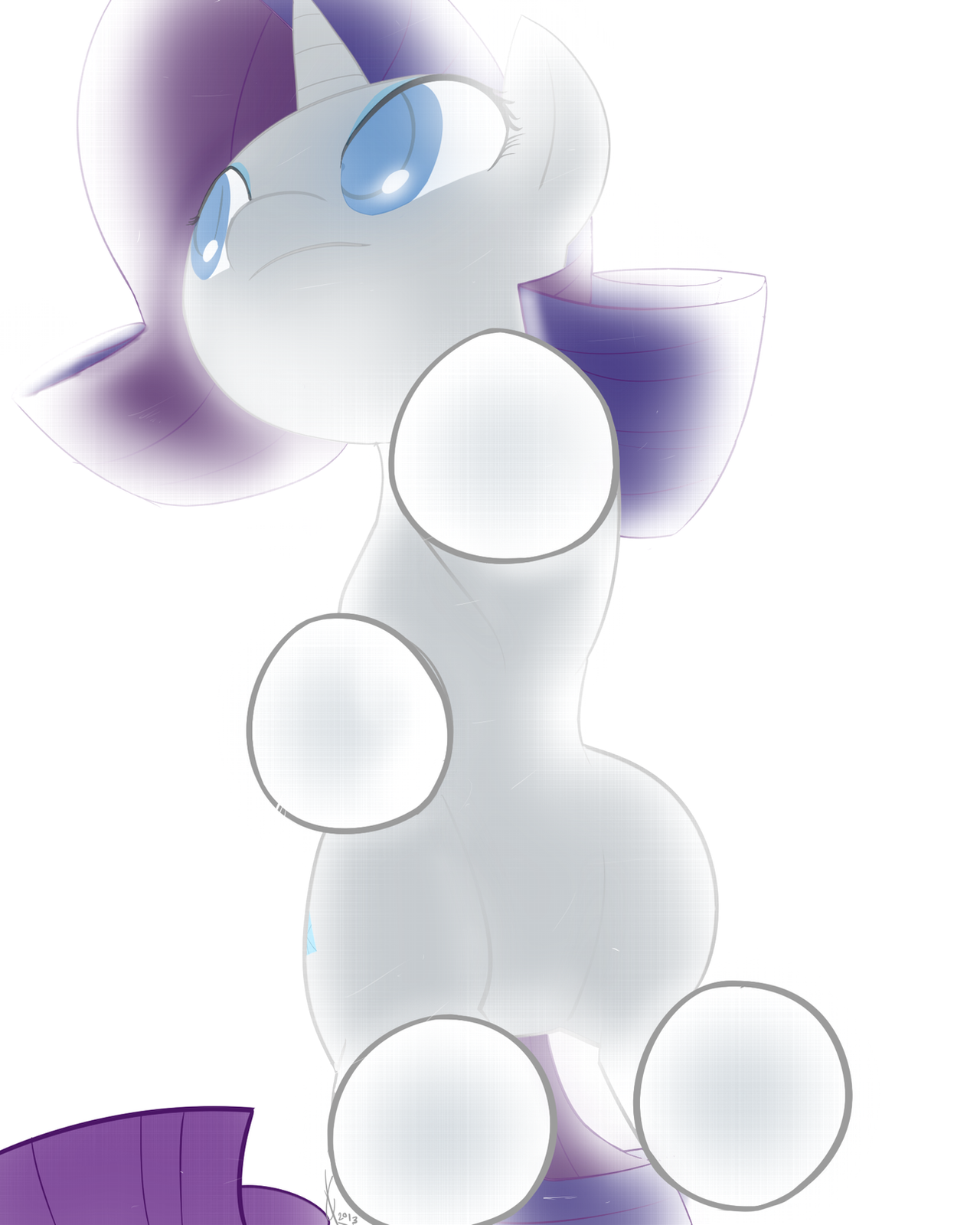 So I scanned my pony.. by Dreatos