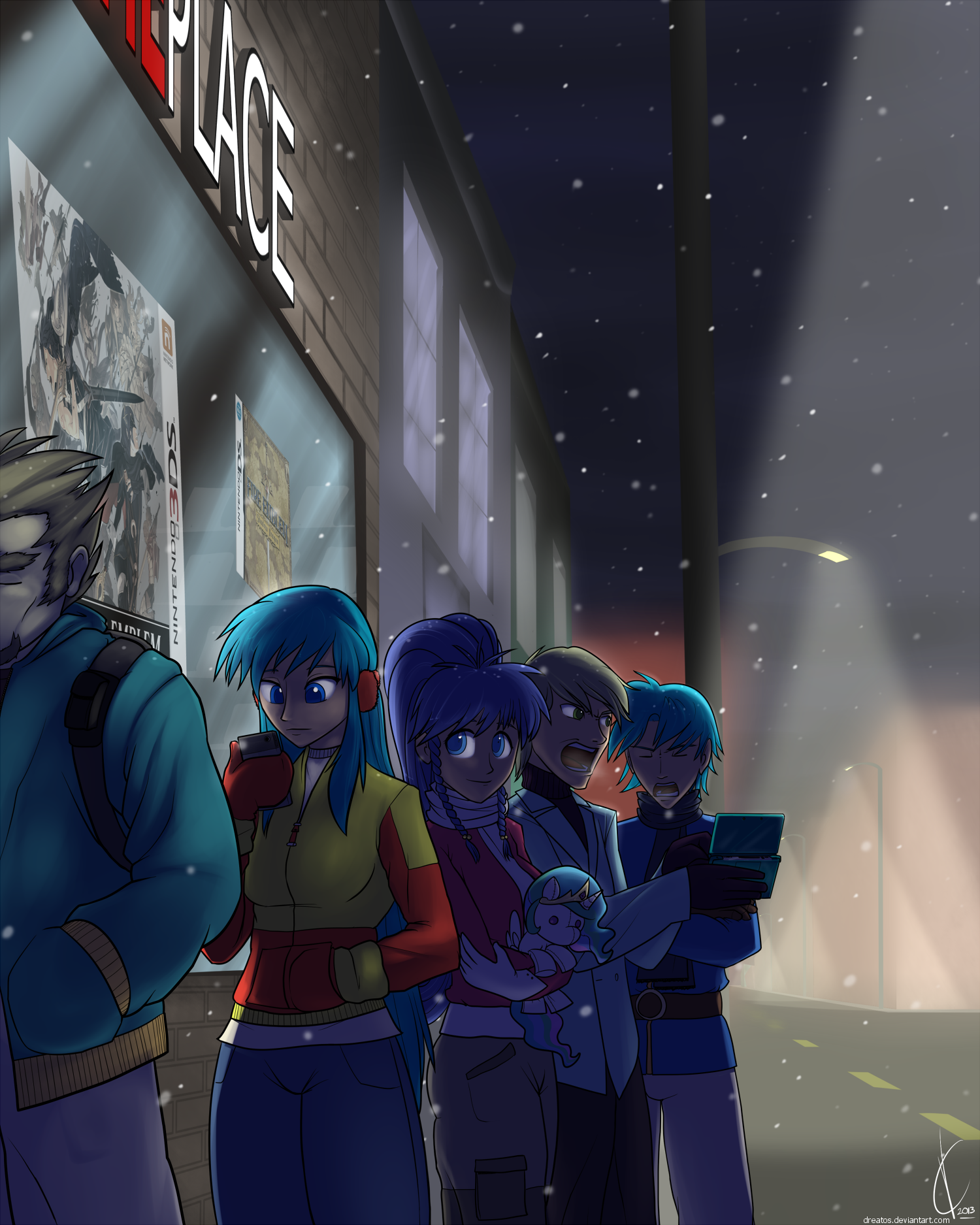 Fire Emblem:  Midnight Release by Dreatos