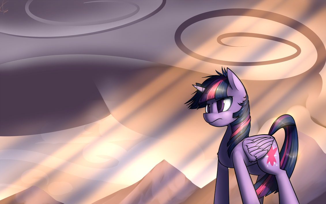 Rays on a Landscape by Dreatos