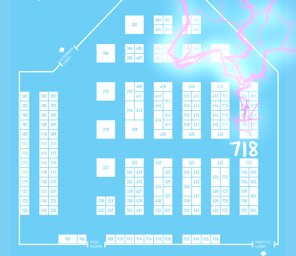 BronyCon Table Location! by Dreatos