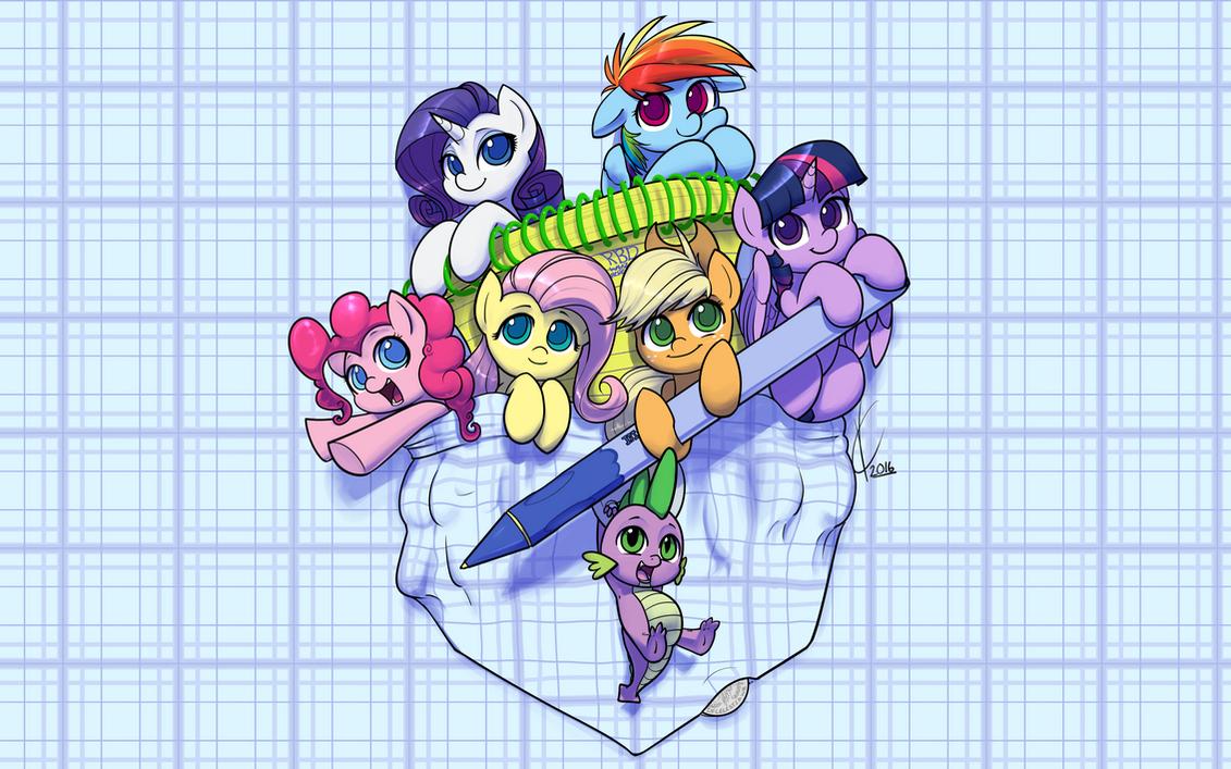 Pocket Ponies by Dreatos