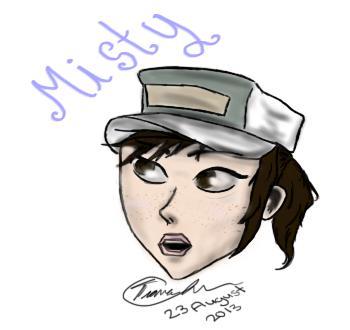 Misty by purplepandalover5
