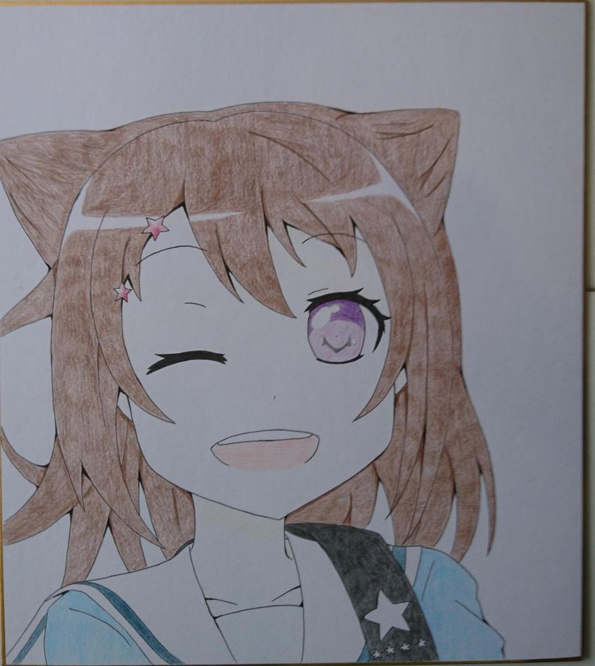Toyama Kasumi by WhiteblueNekofanta