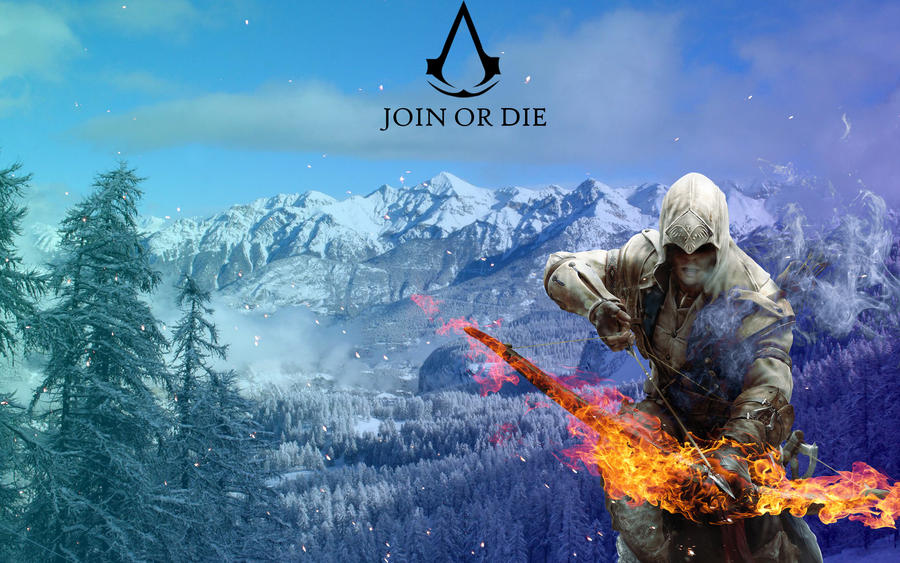 Join Or Die Assassin's Creed 3 by SuperNinjaMan97