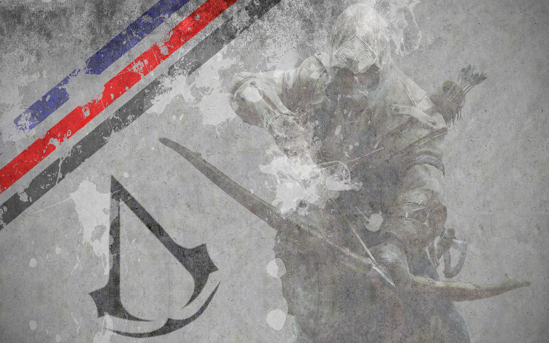 Assassin's Creed 3 Concrete Poster/Background by SuperNinjaMan97