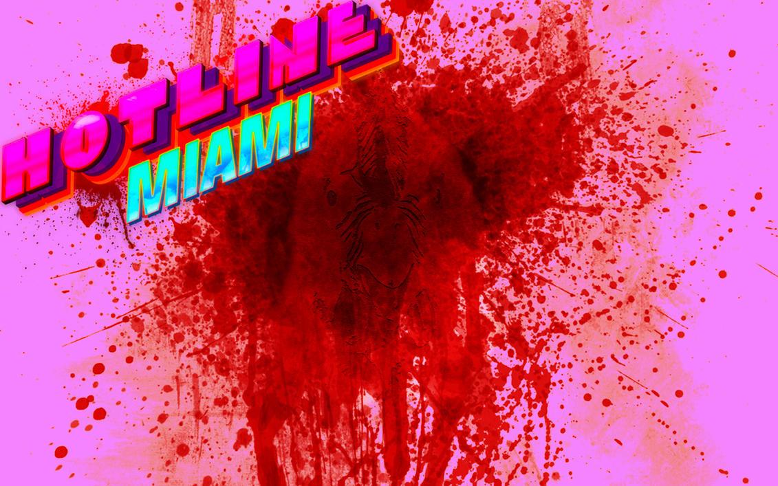 Hotline Miami Wallpaper by SuperNinjaMan97