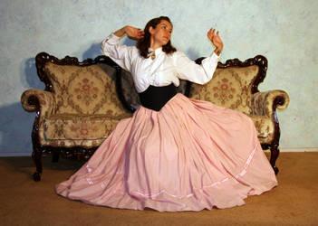 Miss O'Hara 16 by LongStock
