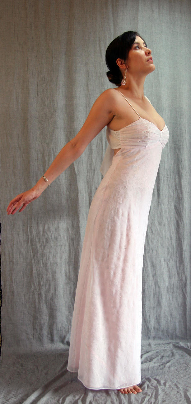 Pink Gown 3 by LongStock