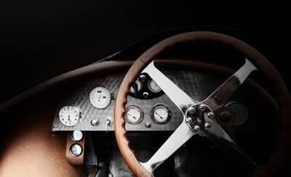 Bugatti interier