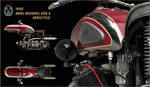 1932 Ariel Redwing Aerocycle by Small-Brown-Dog