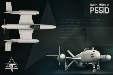 North American P551D by Small-Brown-Dog