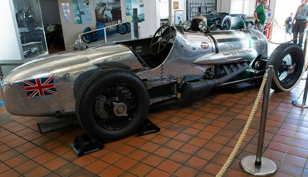 24 Litre Napier-Railton Endurance Record and Track