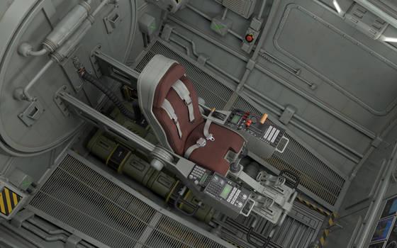 Thunderbird 1 Cockpit reimagined