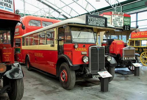1929 AEC Regal I bus  T31