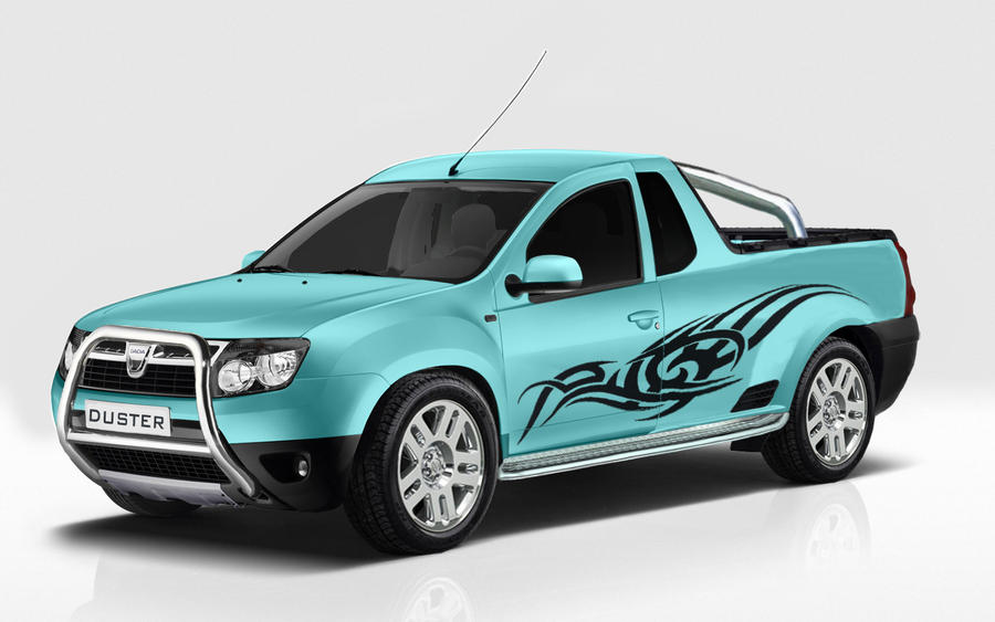 dacia duster pick up tuning by garyroswell007 on deviantart. Black Bedroom Furniture Sets. Home Design Ideas