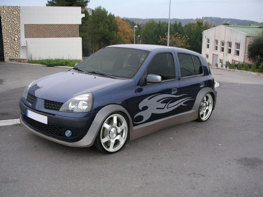 Renault Clio 2 tuning by ~GaryRoswell007 on deviantART