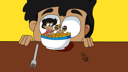 Challenge: Draw your OC in your favorite food by Pacooh