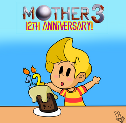 Mother 3 12th Anniversary by Pacooh