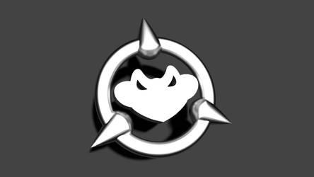 Battletoads Metallic Logo - Dark Background