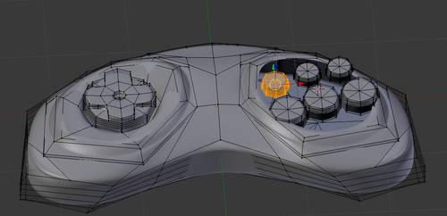 Gamepad Model (WIP)