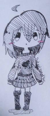 Sketchy Older Yui(?)