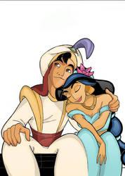 Aladdin and Yasmine by Doritoz007