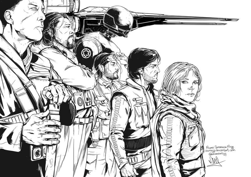 Star Wars Rogue One by ASMing