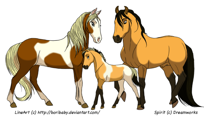 Spirit And Family By Foxhole09 On Deviantart