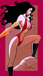 Vampirella - variant by SlyFXZ