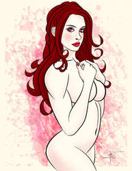 Anne Hathaway by SlyFXZ