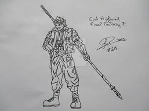 Cid Highwind - Final Fantasy 7