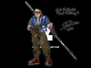 Cid Highwind - Final Fantasy 7 (Finish)