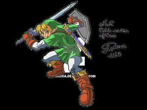 Link - Zelda Ocarina Of Time Final