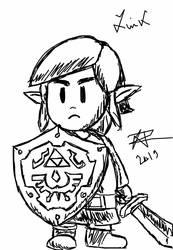 Link - The Legend of Zelda - Link's Awakening