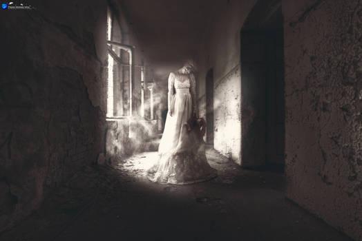 Creepy Ghostly Woman