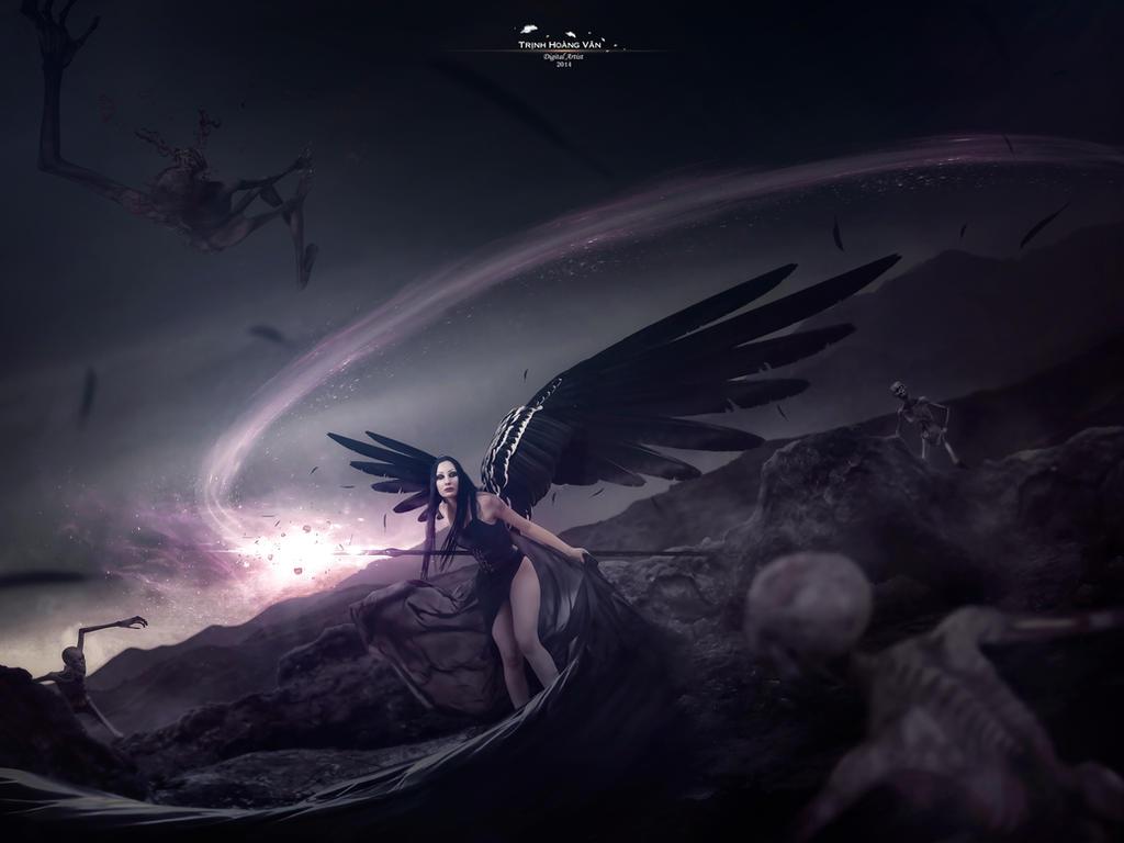 Wings Of Darkness by Hoangvanvan