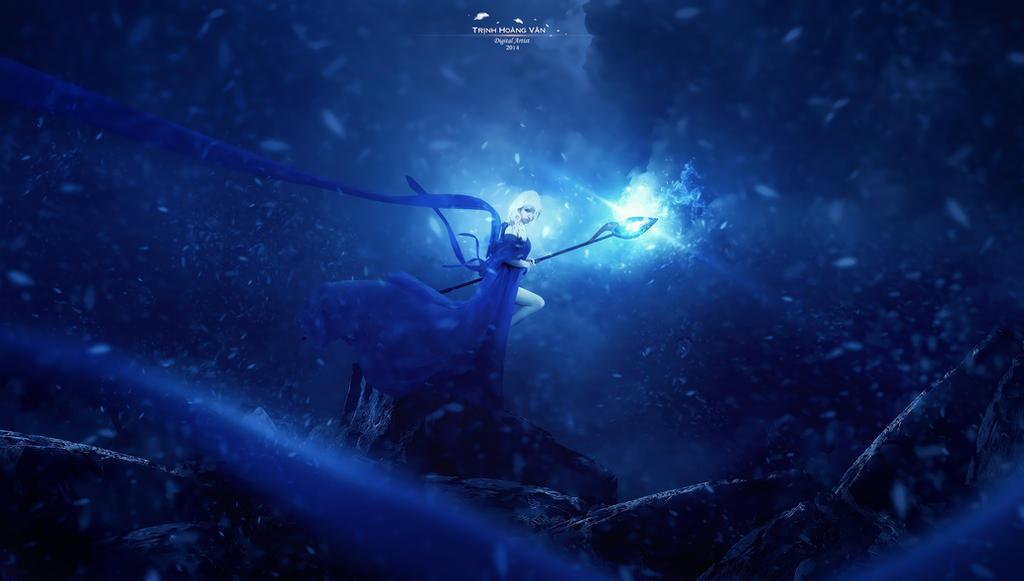Frozen Queen by Hoangvanvan