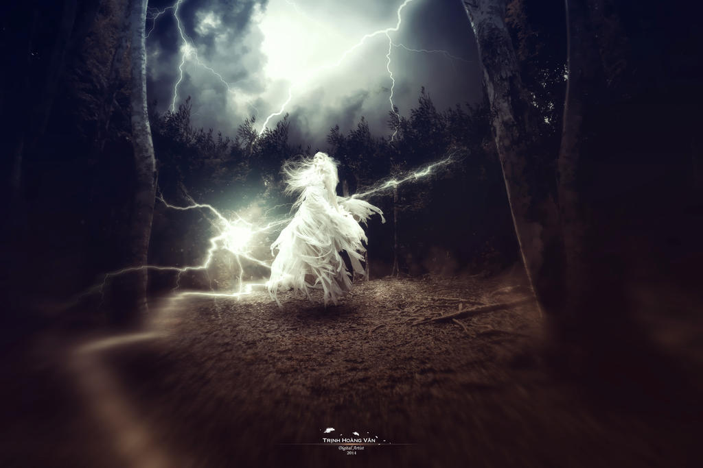Lightning in the Darkness by Hoangvanvan