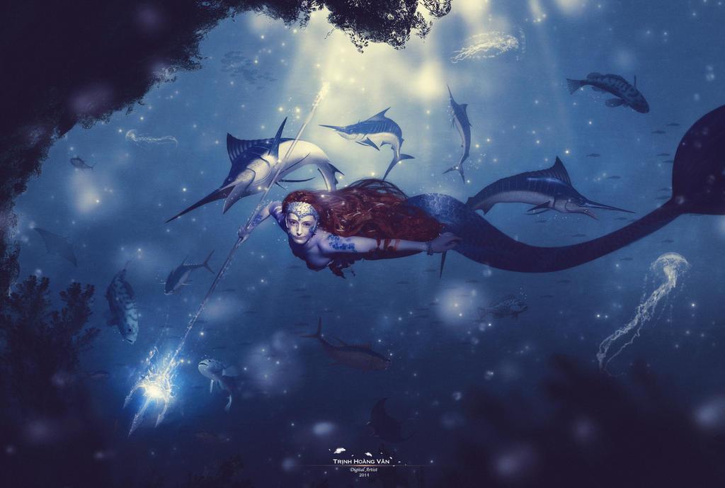 Mermaid Queen by Hoangvanvan