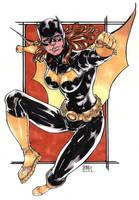 batgirl sketch by adagadegelo