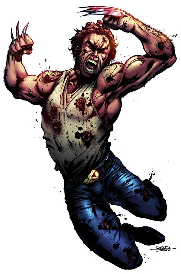 Wolverine by adagadegelo