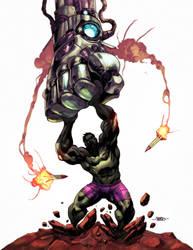 Hulk by adagadegelo