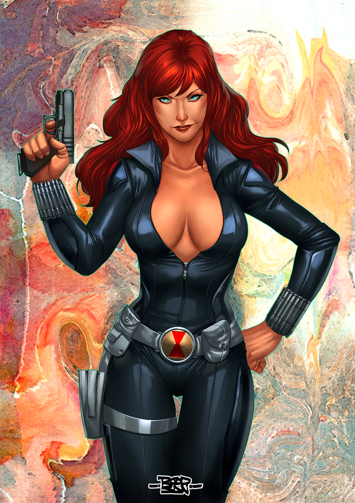 Black Widow by adagadegelo