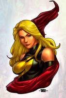 Ms. Marvel by adagadegelo