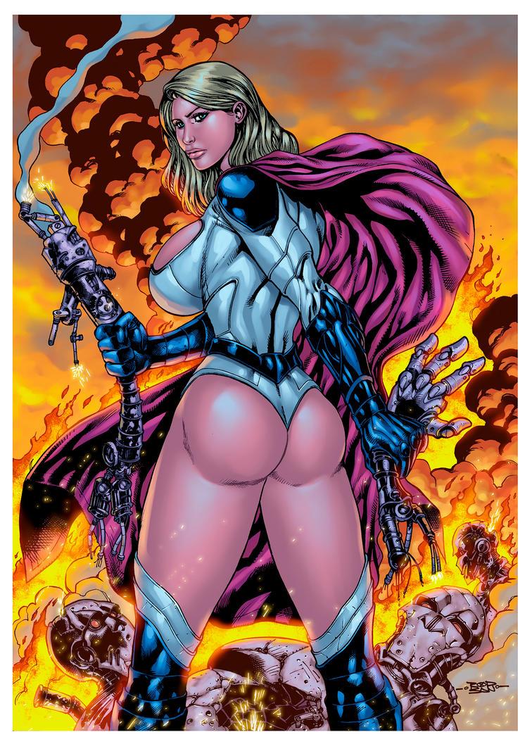 Powergirl my concept by adagadegelo