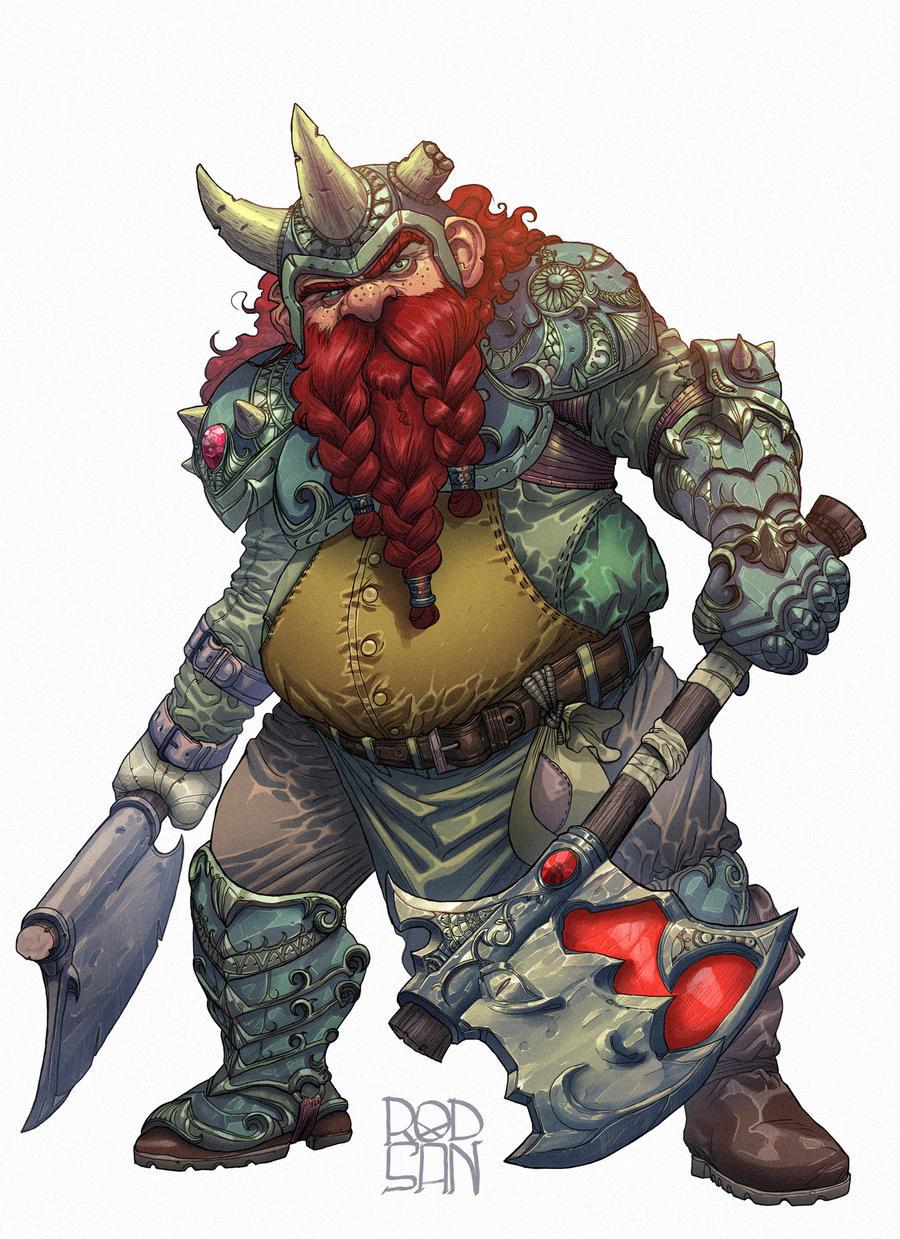 Dwarf by adagadegelo