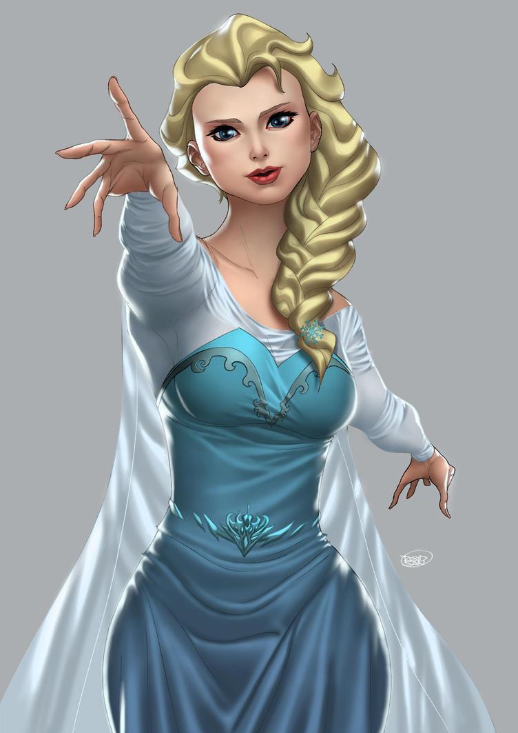 Elsa - Commission by adagadegelo