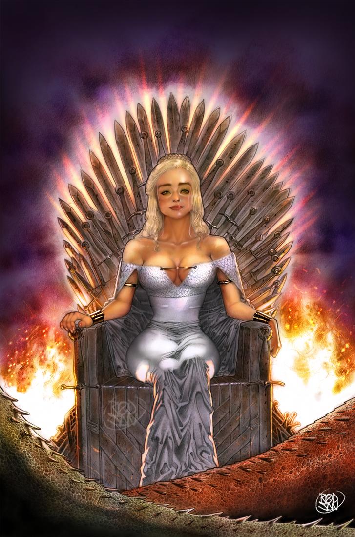 Daenerys Targaryen by adagadegelo