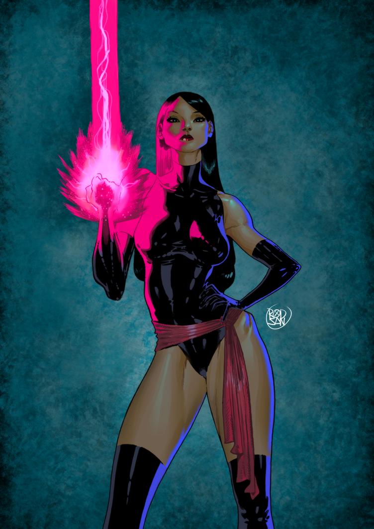 Psylocke by adagadegelo